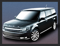 Ford Flex Crossover Airport Service Moraga CA to/from SJC